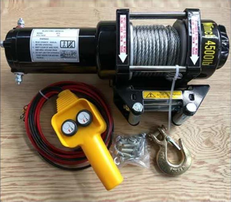 12V 4x4 Electric winch (4)